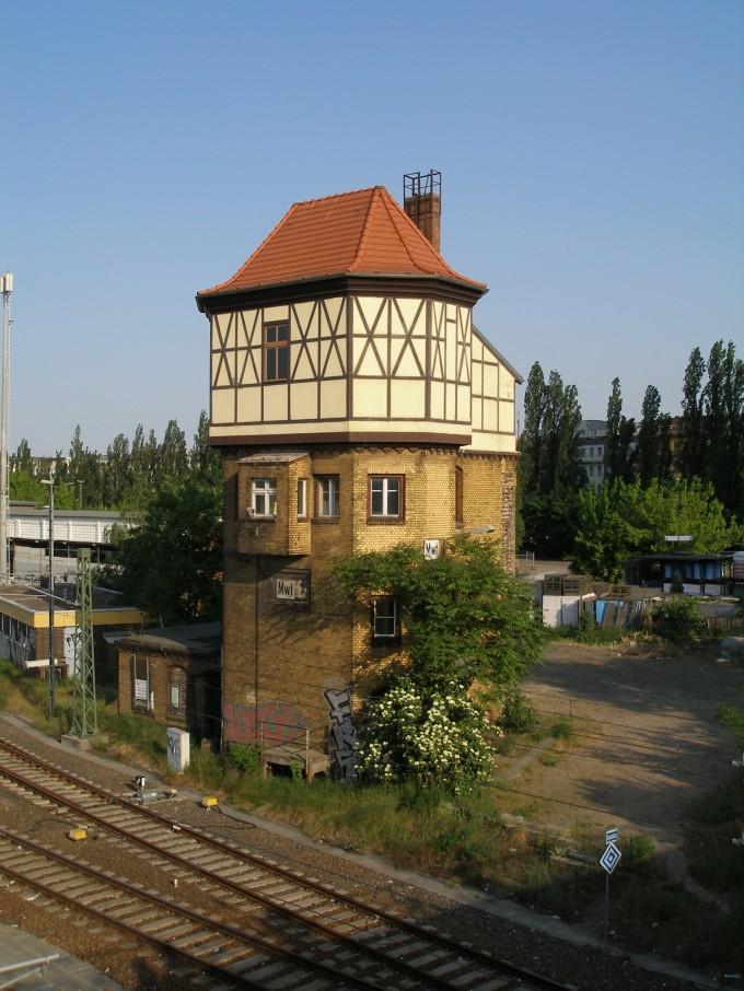Wasserturmstellwerk – Berlin Moabit